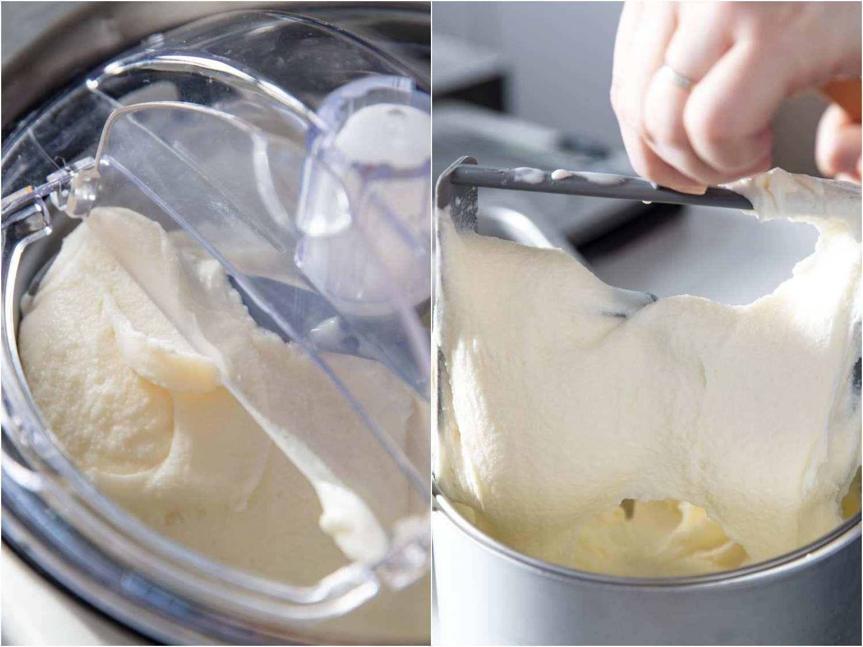 freshly churned gelato