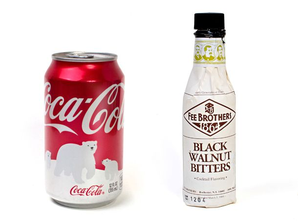 Coke and Black Walnut Bitters
