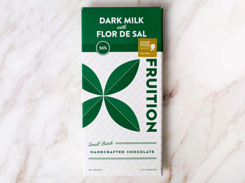 Fruition dark chocolate bar