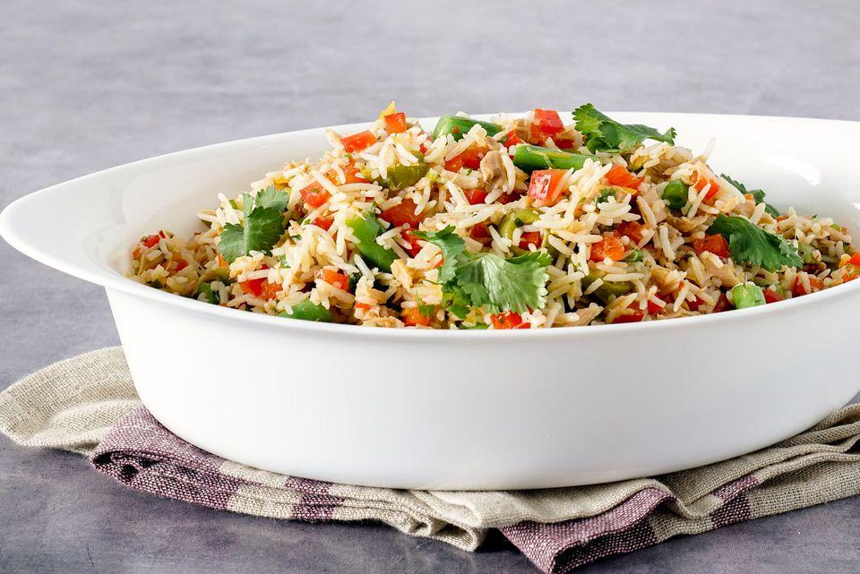 North African Tuna Rice Salad