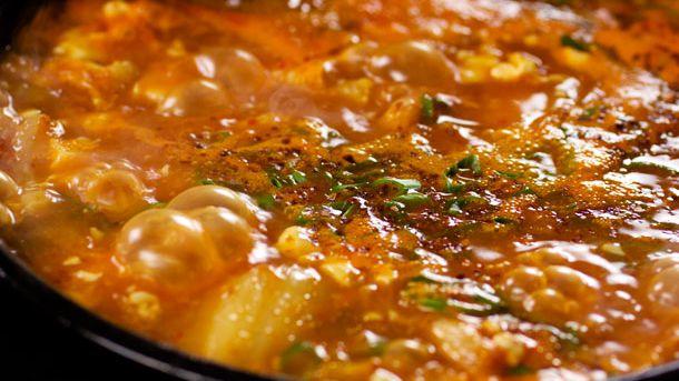 Soondubu Jjigae Korean Soft Tofu Stew Recipe
