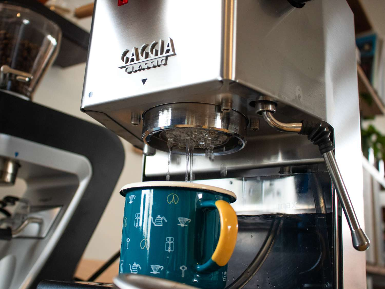 Purging water from the Gaggia Classic Pro Espresso Machine