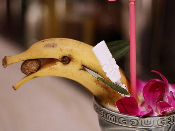 Banana Daquiri garnish.