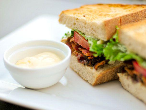 mayonnaise and sandwich