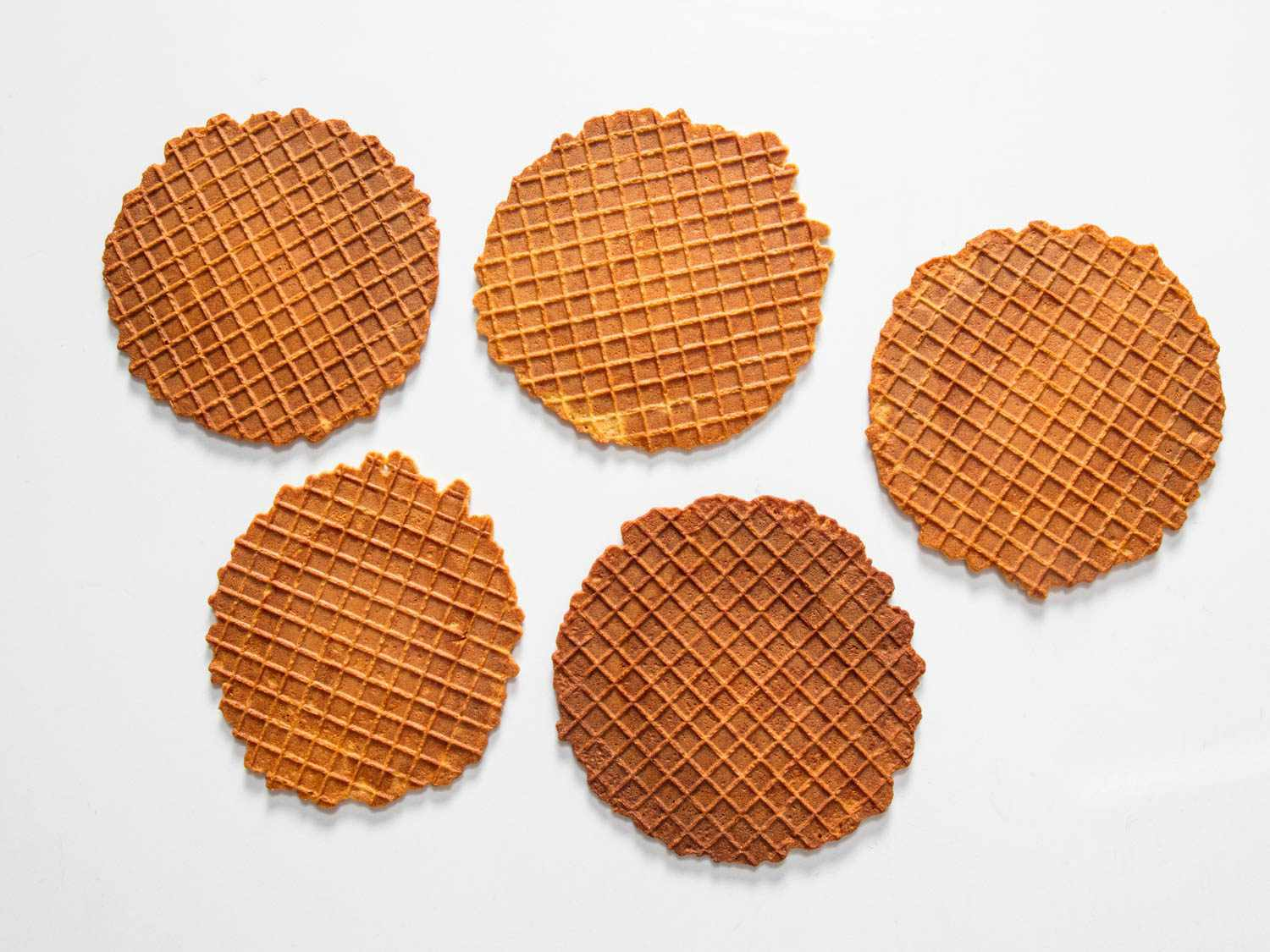 discoloration in unevenly mixed waffle batter