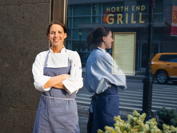 Pastry Chef Tracy Obolsky at North End Grill