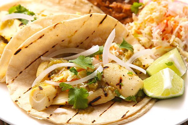 Grilled Hearts of Palm Tacos