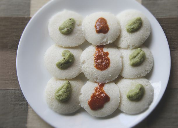 15.9.2013-Idli, Indian steamed RIce and Lentil cakes.jpg