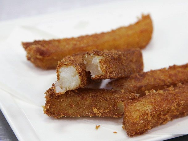 french fries with crispy crust