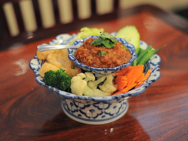 Nam-Prik-Ong (Red Chili Dip)