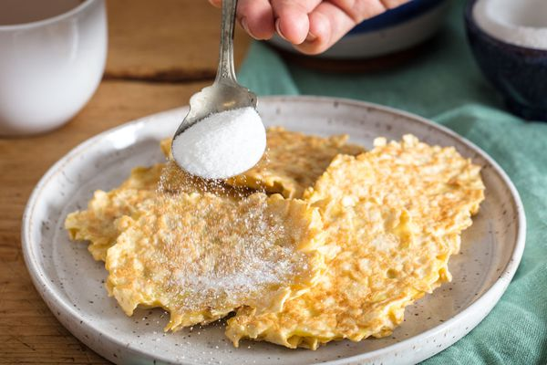 Matzo pancakes