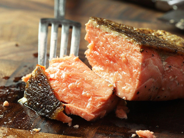 Crispy Pan-Seared Salmon Fillets Recipe