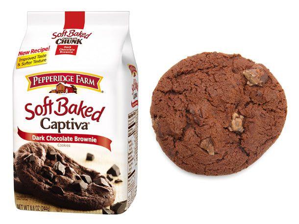Soft Baked Chunk: Captiva Dark Chocolate Brownie