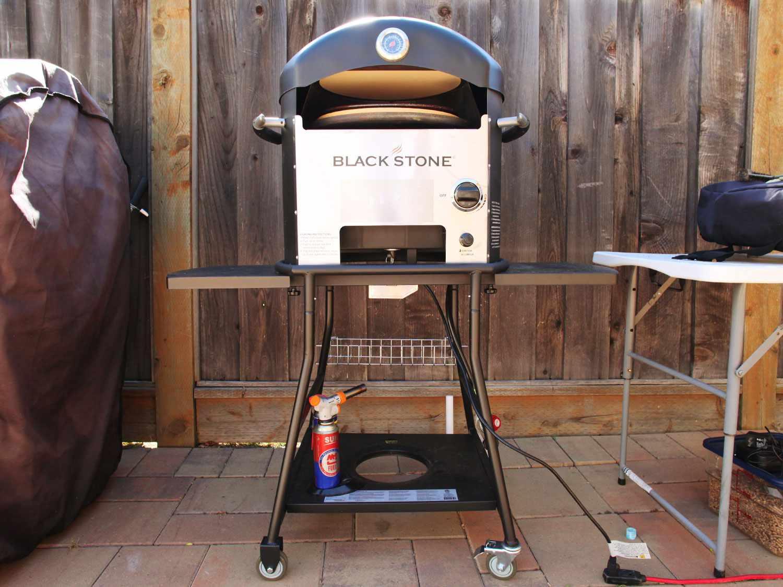 Blackstone backyard pizza oven
