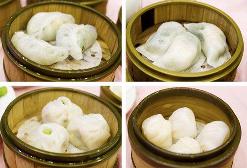 Steamed Dumplings from Jing Fong