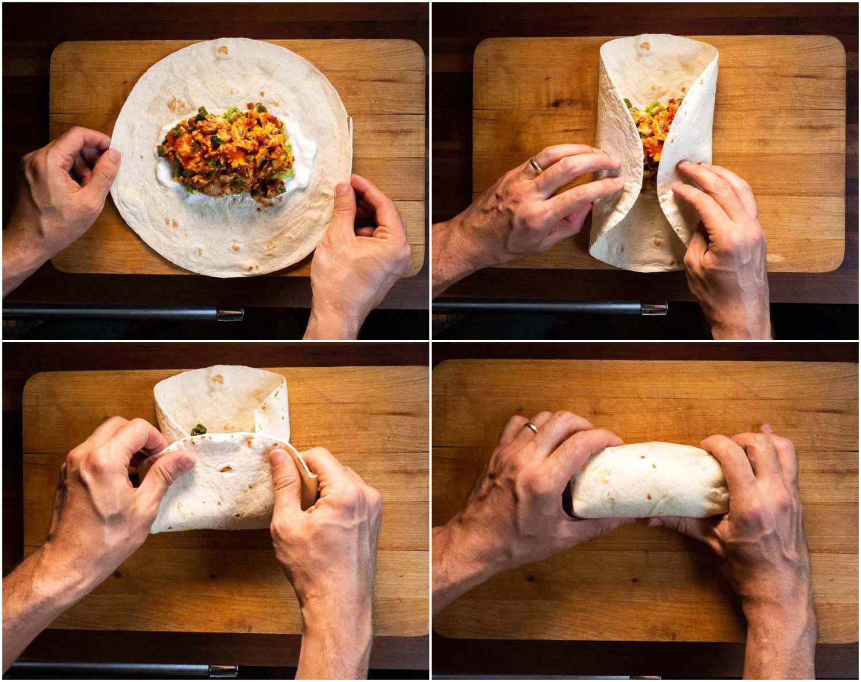 20200706-chorizo-egg-refried-bean-breakfast-burrito-daniel-gritzer-collage