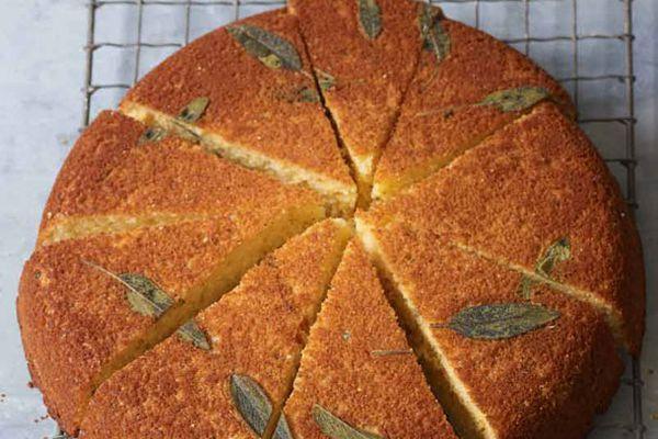 20121126-bake-the-book-epicurious-sage-honey-skillet-cornbread.jpg