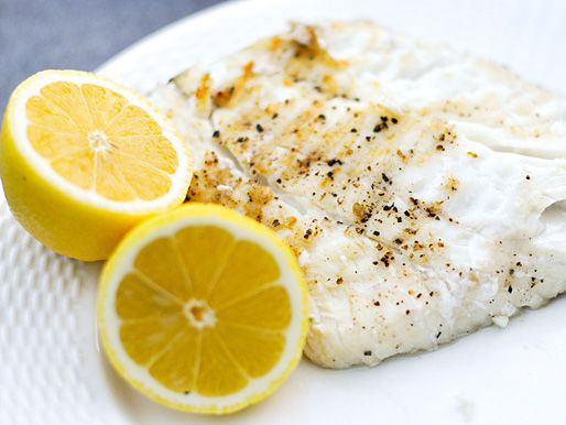 Simple Grilled Halibut