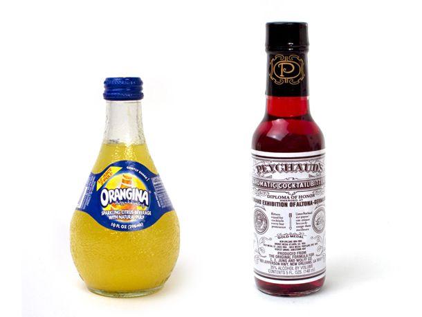 Orangina and Peychaud's Bitters