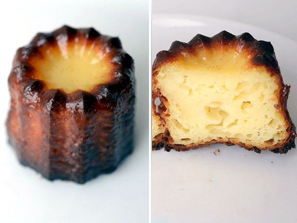 A canele from Breads Bakery