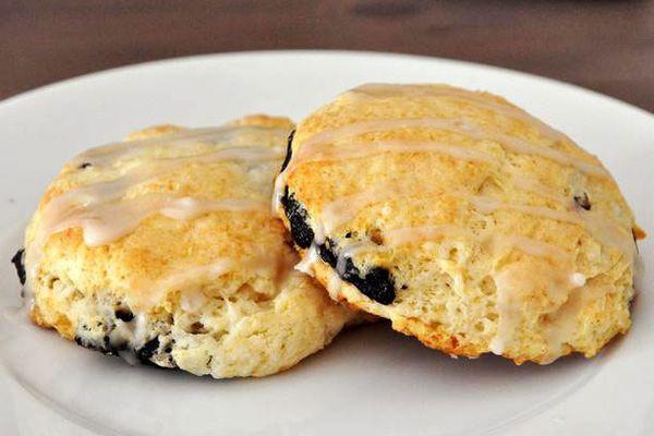 Sugar plum scones