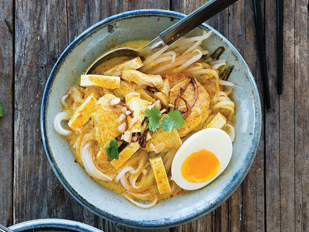 Curry Noodles with Chicken