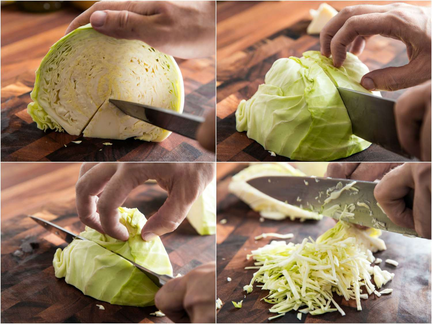 How to Shred Cabbage for Sauerkraut