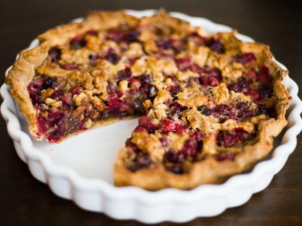 Cranberry Walnut Pie