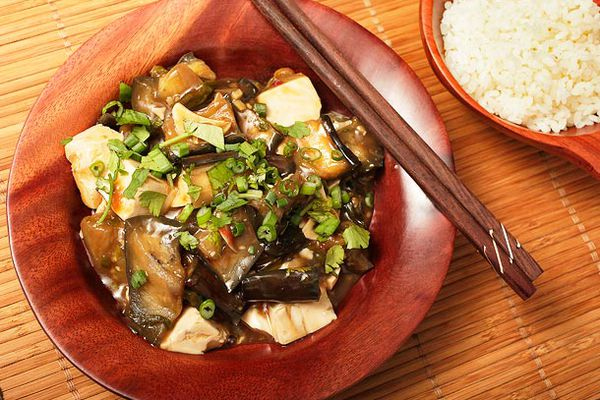 Braised Eggplant with Tofu