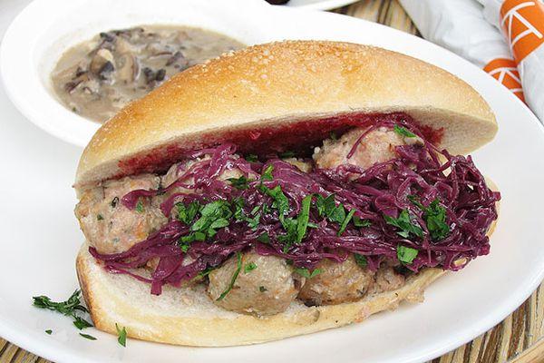 Turkey Meatball Sandwich ($12)