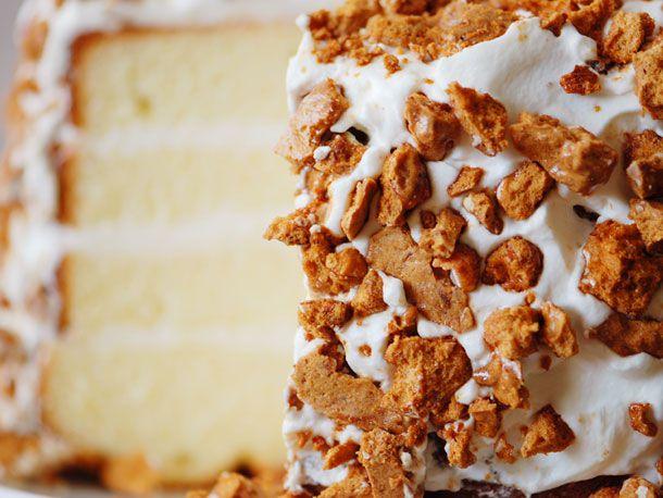 coffee-almond brittle torte