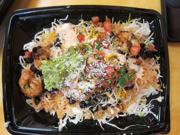Rubio's Grilled Shrimp Grande Bowl