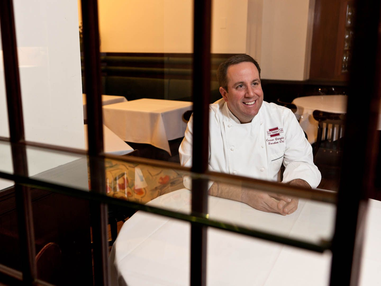 Executive Chef Carmen Quagliata of Union Square Cafe in NYC