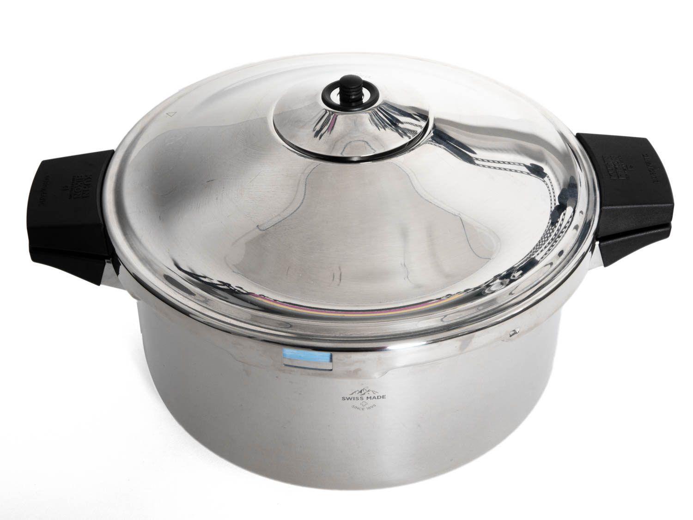 The Kuhn Rikon Duromatic stovetop pressure cooker