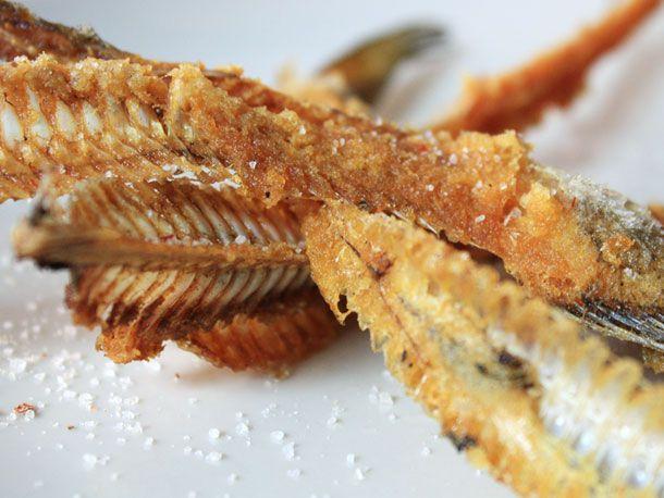 Deep Fried Fish Bones Recipe