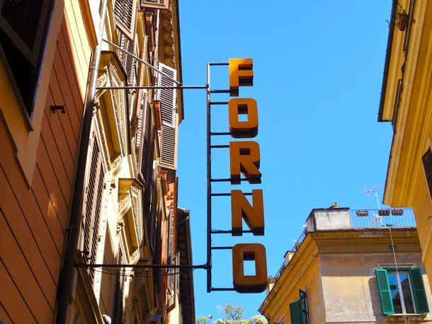 Forno restaurant sign