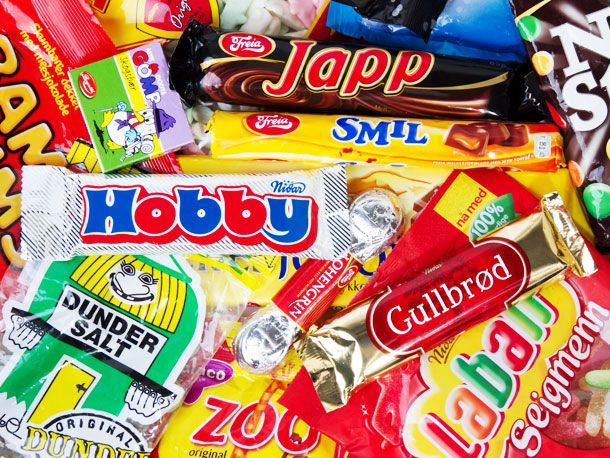 2. A Guide to Norwegian (and Some Swedish) Candy