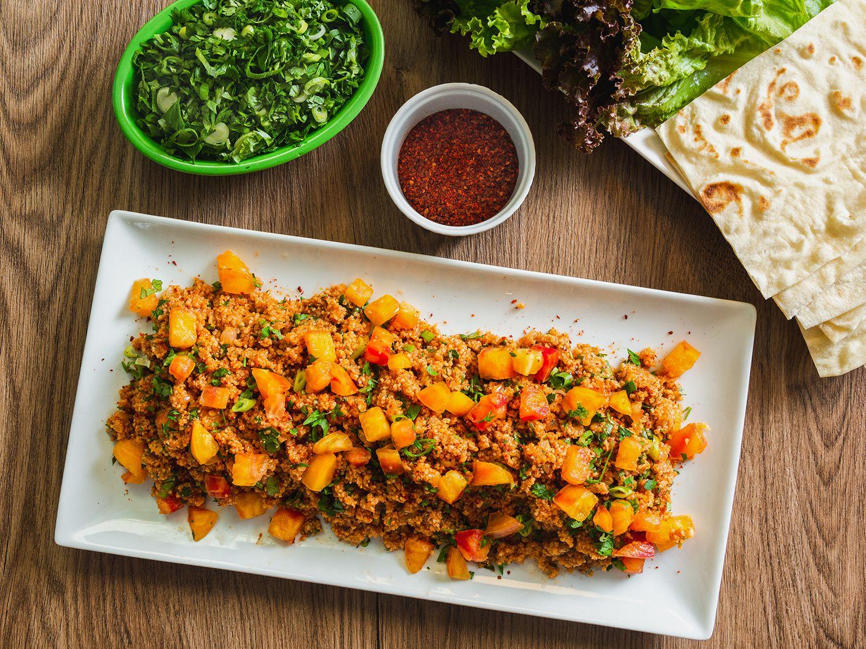 Eetch (Armenian Bulgur, Tomato, and Herb Salad)