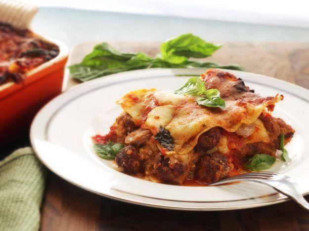 Lasagna Napoletana (Lasagna With Sausage, Smoked Cheese, and Meatballs)