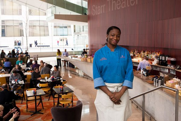 Chef Charlene Johnson-Hadley at American Table Cafe and Bar