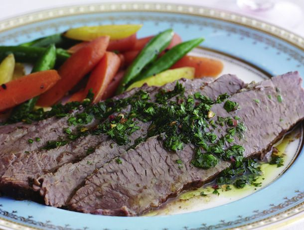 Argentinean Brisket with Chimichurri