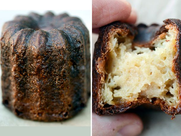 A canele from Runner and Stone.