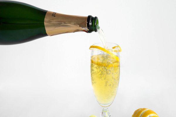 Sparkling Suze Cocktail