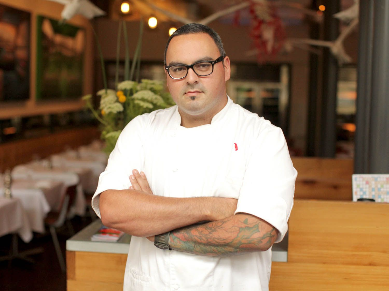 Chef Levon Wallace of Proof on Main in Louisville, Kentucky
