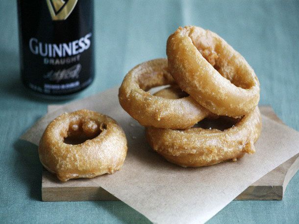 Stout-Battered Onion Rings