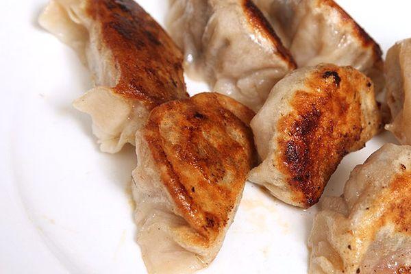 Bacon + Ramps + Dumplings