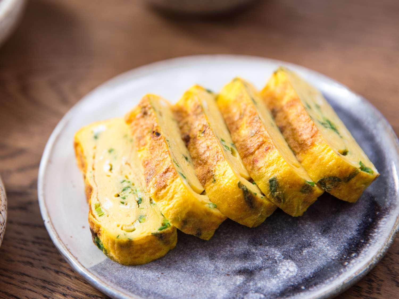 rolled omelette banchan