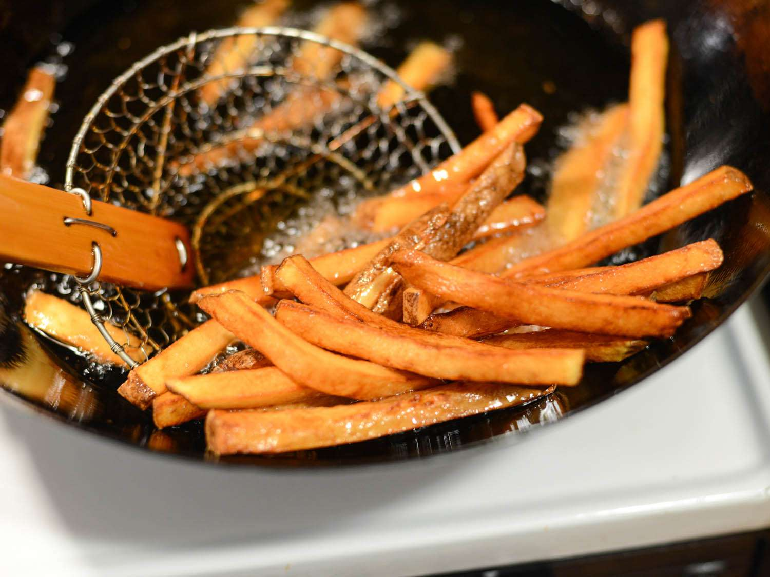 fries made from scratch