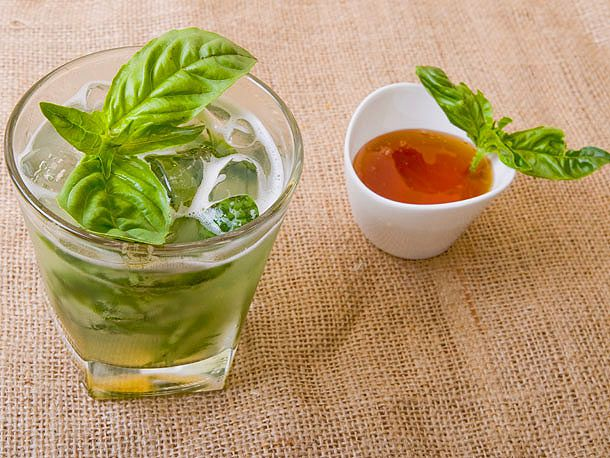 Honey-Basil Lemonade