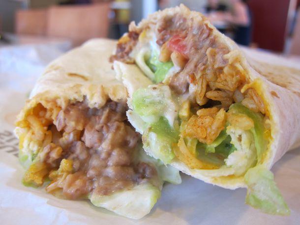 Taco Bell Seven-Layer Burrito